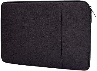 FOOKANN Shockproof Laptop Sleeve Case 15.6-inch, Waterproof Laptop Bag for Macbook (Black)
