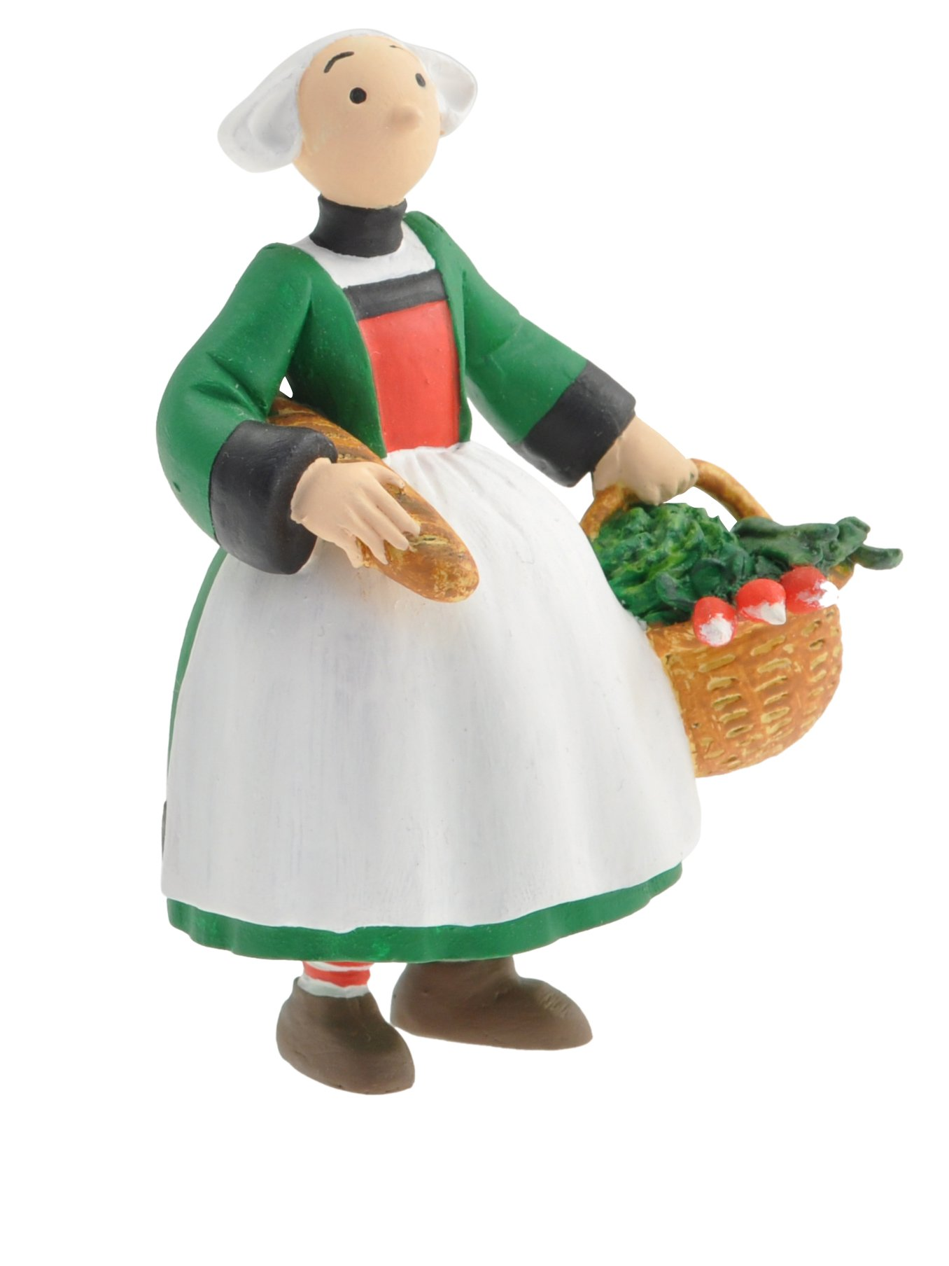 2014 Collectible Figurine Plastoy Bécassine back from the market 61022