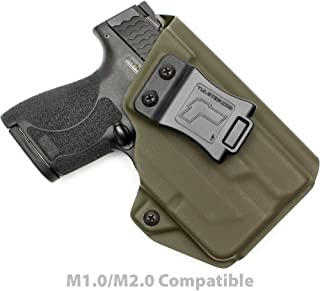 Tulster M&P Shield 9mm/.40 w/TLR-6 Holster IWB Profile Holster - Right Hand