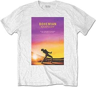 QUEEN クイーン (ボヘミアン・ラプソディ公開記念) - Bohemian Rhapsody/バックプリントあり/Tシャツ/メンズ 【公式/オフィシャル】
