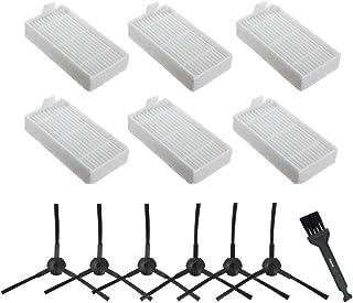 WEIHAN 2 piezas cepillos laterales para Ilife V3s 3spro A4 A4s A6 5v 5spro aspiradora rob/ótica piezas de repuesto gris