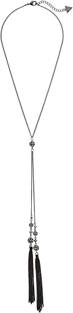 GUESS - Tassel Y Necklace