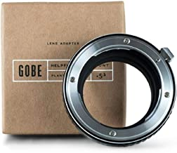 Gobe Lens Mount Adapter: Compatible with Nikon F Lens and Leica M Camera Body