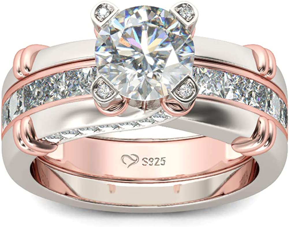 Max 53% OFF JEULIA Diamond Band Rings for cz Interchan Max 55% OFF Sterling Women Silver