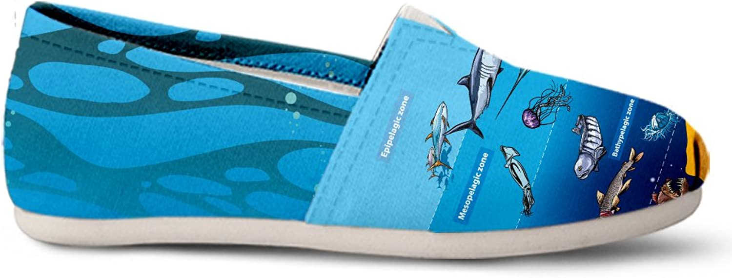 Gnarly Tees Marine Biology Casual shoes