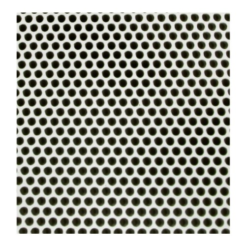 M-D Building Products 84186 .020-Inch Thick 3-Feet by 3-Feet Small Hole Aluminum Sheet, White