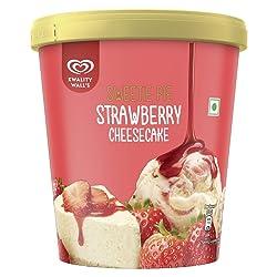 Kwality Walls Strawberry Cheesecake, 700 ml