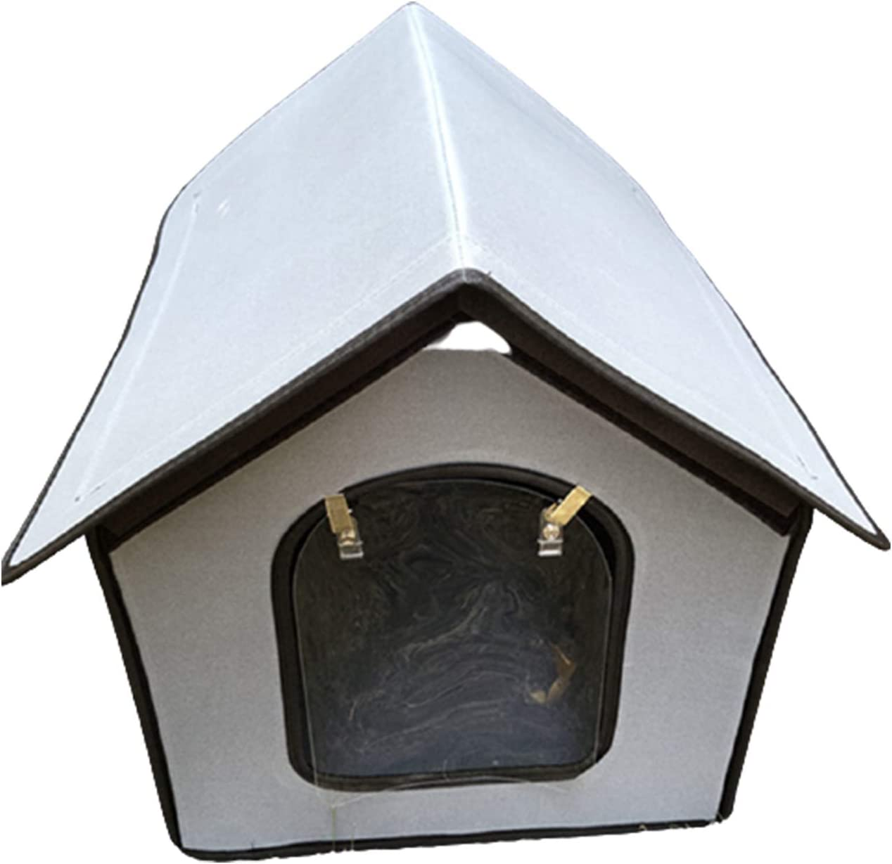 SONGBIRDTH Free shipping Pet House Waterproof At the price of surprise Villa Little Collapsi Cat Kennel