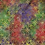 Fabric Freedom Batik-Stoff für Patchwork, Quilten und