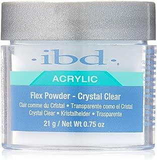 IBD Flex 71828 Crystal Clear Powder, 0.75 Ounce