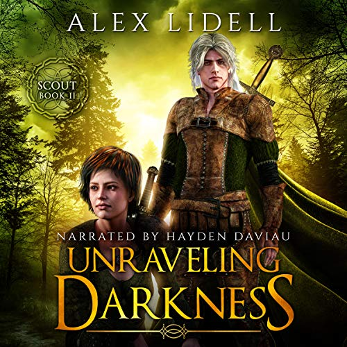 Unraveling Darkness audiobook cover art