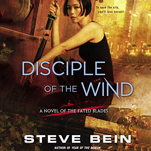 Disciple of the Wind audiobook cover art