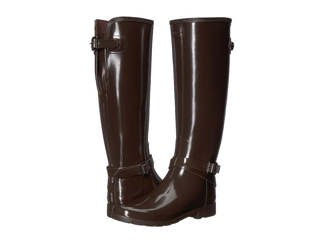 スーツクマノミベル[ハンター] レディース ブーツ&レインブーツ Refined Adjustable Ankle Strap Gloss [並行輸入品]