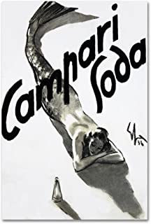 vintage campari poster original