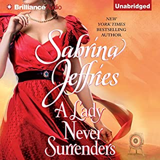 A Lady Never Surrenders audiobook cover art