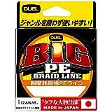 DUEL(デュエル) PEライン 6.0号 BIG PE 135m ブルー H3767-B
