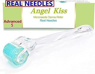 REAL Needles - 192 Derma Roller Micro Needles Advanced (1.0) - Angel Kiss Microneedling لوازم آرایشی و بهداشتی غلتک ، سیلندر میکرو سوزن ضد زنگ فردی ، غلتک میکرونیدل برای مراقبت از صورت