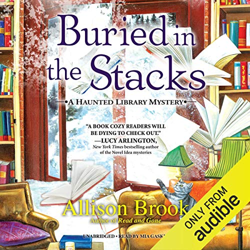 Buried in the Stacks audiobook cover art