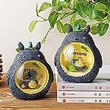 Mi Vecino Totoro Night Lamp Set De 2 Hayao Miyazaki Cartoon Anime Night Light para Chica Mejores Regalos Navidad Hogar Dormitorio Lámpara De Noche Decorativa