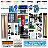 SUNFOUNDER Raspberry Pi Starter Kit für Pi 4 B 3 B + 400, German Tutorial, Python C, 210 Artikeln, 40 Projekten, Raspberry Pi Zubehör zum Erlernen von Elektronik und Programmierung