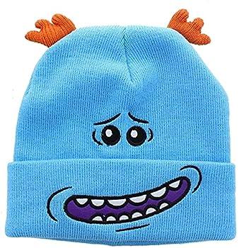 Rick and Morty Mr Meeseeks Cosplay Hat Beanie Blue