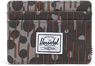 Herschel Charlie RFID, Camuflaje de Guisante Verde, Talla única, Charlie RFID para Hombre