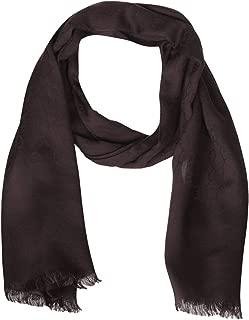 Gucci Brown GG Guccissima Wool Silk Scarf