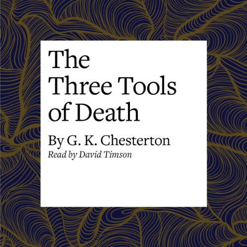 The Three Tools of Death copertina