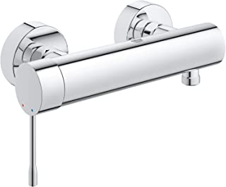 GROHE 33636001 Essence Wall-Mounted Shower Tap, Integrated Non-Return Valve