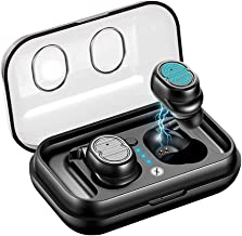 Xmate Gusto in-Ear Touch Control True Wireless Bluetooth Headphones (TWS) with Mic - (Black)
