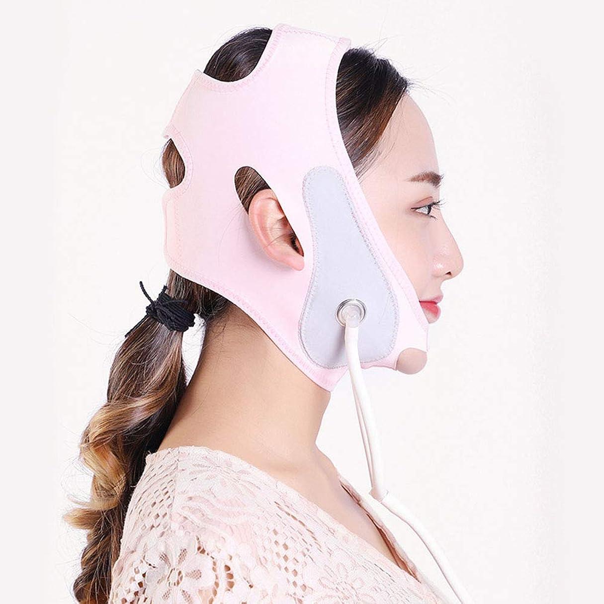 遠足惨めな必須膨脹可能なVのマスク、持ち上がる咬筋の筋肉収縮のあごの睡眠ベルト/膨脹可能なベルト/包帯を持ち上げる