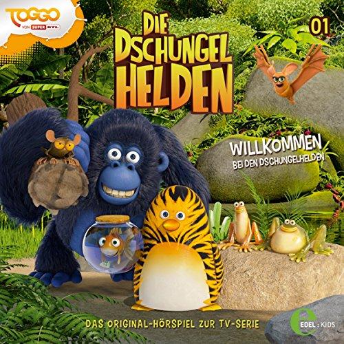 Willkommen bei den Dschungelhelden (Die Dschungelhelden 1) Titelbild
