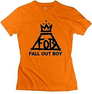 Jiaso Women's Fall Out Boy Logo T-Shirt