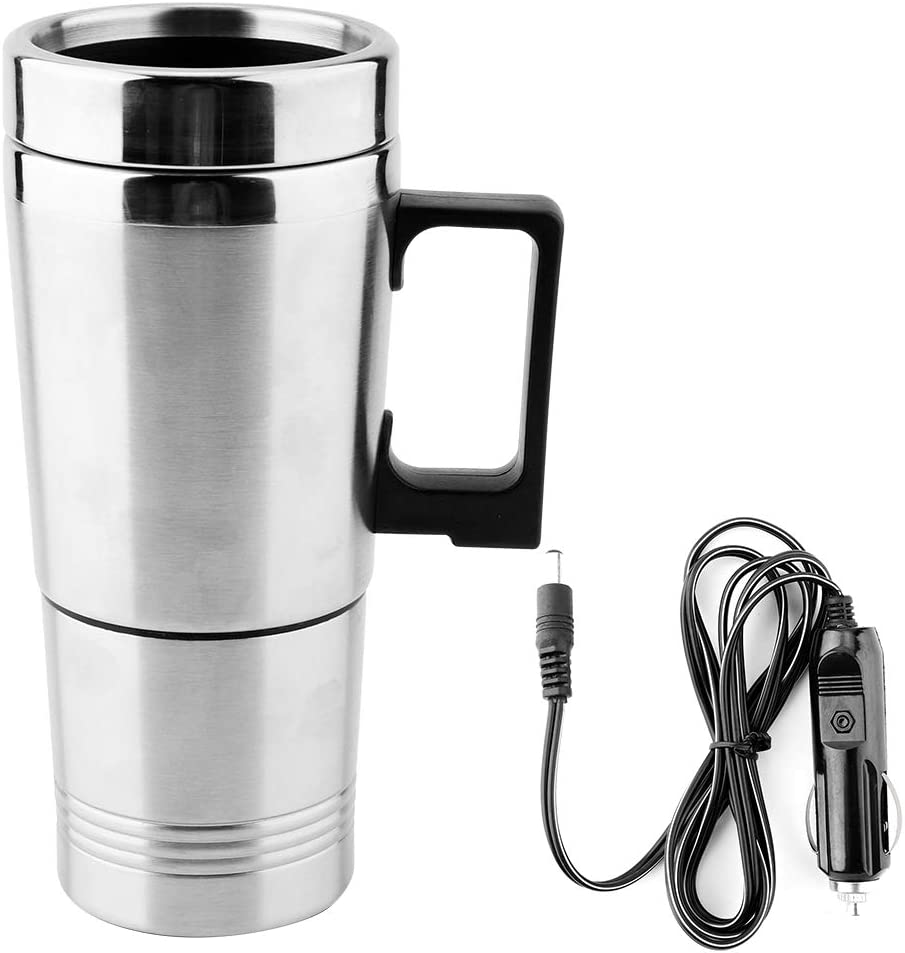 Omaha Mall Car Water Kettle Attention brand Stainless Electric Heatin Steel