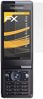 atFoliX Skärmskydd är kompatibel med Sony-Ericsson Aino Skyddsfilm, antireflekterande och stötdämpande FX Film (3X)