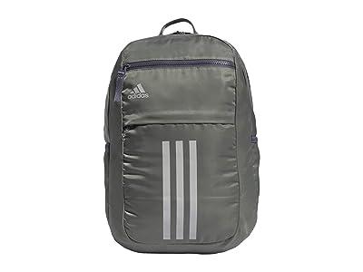 adidas League 3 Stripe Backpack (Legacy Green/Onix/Grey 2) Bags