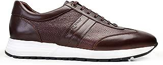 4819-DEC EXLDEC-Antik K.Kahve 206 - Floter Kahve 7 Nevzat Onay Sneaker Kahverengi Deri Erkek Ayakkabı