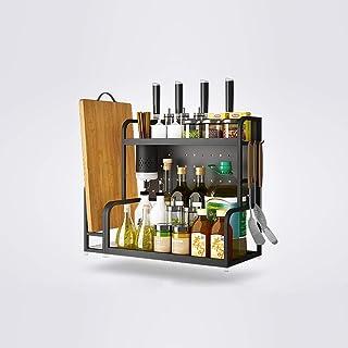 Estante de almacenamiento de usos múltiples de cocina de acero inoxidable de 2 niveles Rack / Estante de estante de cocina...
