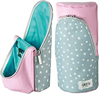 Sma Sta 智能立式手机壳适用于钢笔电话化妆品 粉红色