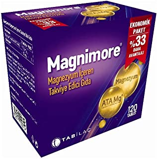 Magnimore Magnezyum Tablet 120 AD