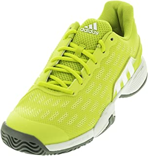 adidas Barricade 8+ Junior Tennis Shoe Solar Green