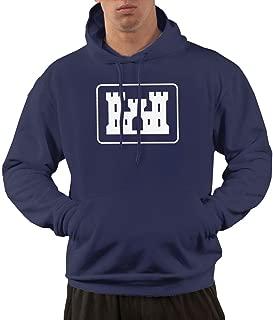 United States Army Corps of Engineers Logo Men's Hoodies, Hoody Hoodies Pullover Hooded Sweatshirt
