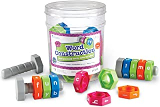 """Learning Resources Word Construction,5"""" x 2 1/2"""",multi,LER5044"""