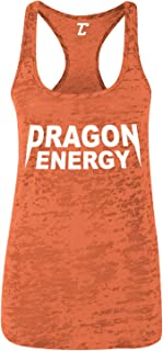 Dragon Energy - Funny Kanye Trump Power Women's Racerback Tank Top