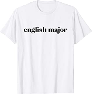 English Major Graphic T-Shirt by Christina Wolfgram