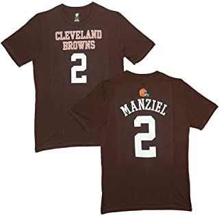 Outerstuff Johnny Manziel Cleveland Browns Baby/Infant Brown Jersey Name and Number T-Shirt