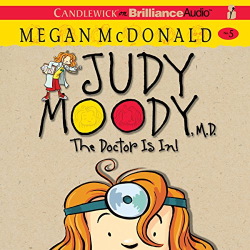 Judy Moody, M.D. (Book 5) cover art