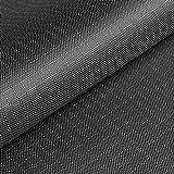 (11,99€/m) Cordura® Ripstop - Tela antidesgarros - Impermeable y a prueba de viento - Recubierta de teflón y poliuretano (PU) - Por metro (gris)
