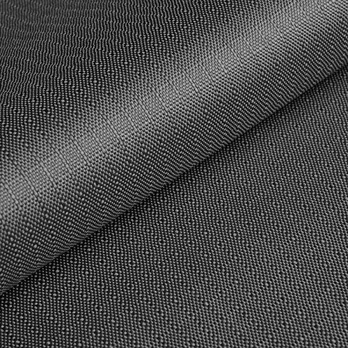 Cordura® Ripstop - Tela antidesgarros - Impermeable y a prueba de viento - Recubierta de teflón y poliuretano (PU) - Por metro (gris)