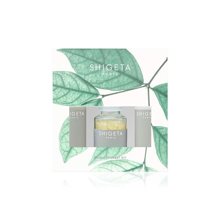ホイップそれ忍耐SHIGETA(シゲタ) Wonder Forest Kit ボディクリーム ヒノキ セット 50ml×2 + 50g